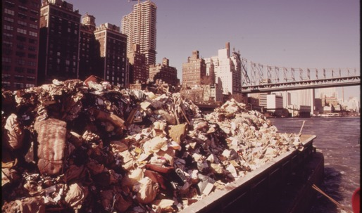 Tracing New York's waste management