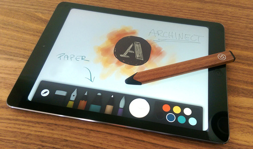 Archinect test drives FiftyThrees Pencil and Paper app for iPad