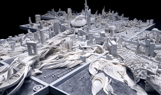 "See New York radically transformed in the ""Building Tomorrow"" exhibition, opening April 4 in NYC"