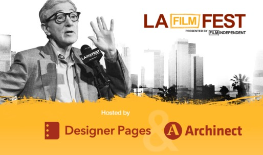 Announcing the 2013 LA Film Festival Directors Lounge Design Competition, co-hosted by Archinect