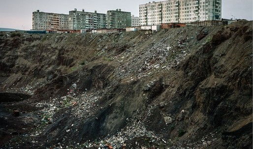 Haunting beauty: Alexander Gronsky photographs Russias polluted North