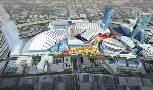 This could be the Los Angeles Convention Center of the (near) future