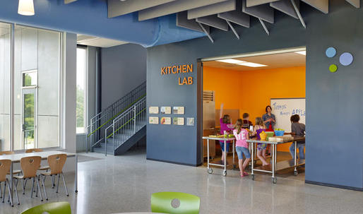 How architects are redesigning schools that encourage kids to eat healthier