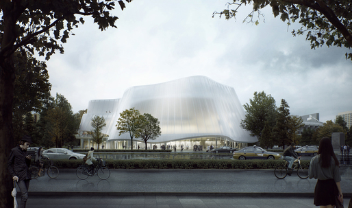 Plans revealed for the new China Philharmonic Hall designed by MAD Architects