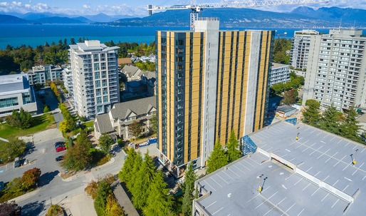 Worlds tallest wood building constructed in Vancouver