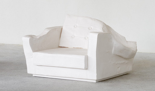 """Charles and Ray Eames, meet Freddy Krueger"": artist creates deformed furniture"