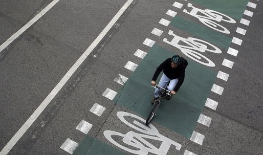 Germany opens first stretch of new cycling superhighway
