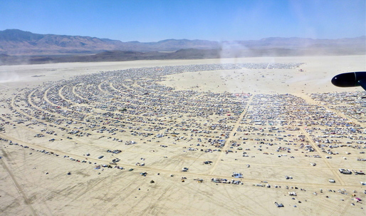 Your annual reminder that Burning Man isn't that special of an idea