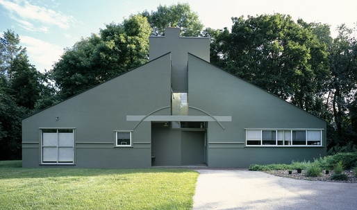 The Vanna Venturi house becomes an official historic place