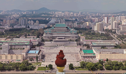 A rare look at North Korean architecture, brought to you by non-Koreans