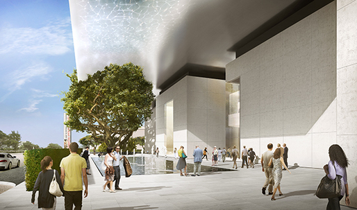 Foster + Partners-designed expansion of the Norton Museum of Art has already raised half of its funds