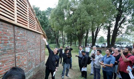 "Shigeru Ban builds earthquake-proof homes in Nepal: ""Im encouraging people to copy my ideas. No copyrights."""