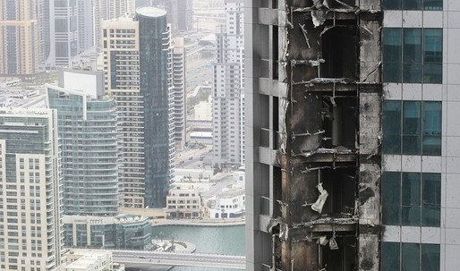 The troubles of evacuating one of the worlds tallest residential buildings during a fire