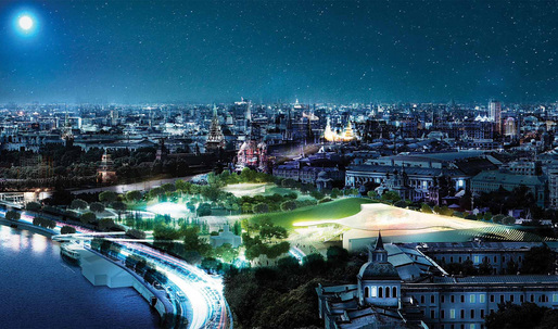 Diller Scofidio + Renfro wins Zaryadye Park competition in Moscow