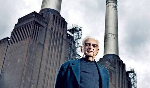Frank Gehry about his Battersea Power Station project, Norman Foster, Mark Zuckerberg