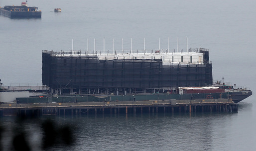 Mysterious Google barge destined for the scrap yard