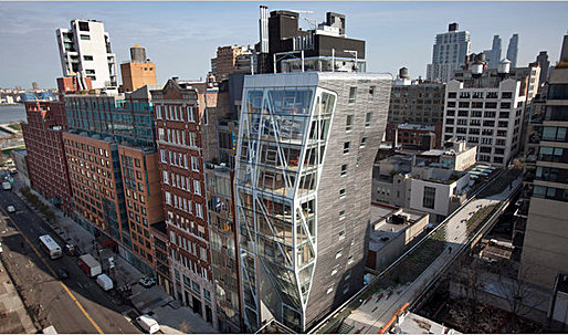 Neil Denari's HL23 Residential Tower Rises in Chelsea - Review - NYTimes.com