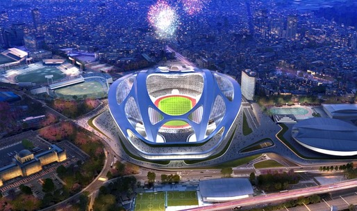 Hadid and Japanese at loggerheads over 'turtle-like' Olympic stadium