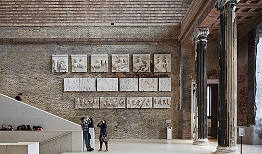 Chipperfield's Neues Museum renovation snags Mies van der Rohe award