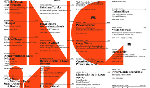 Get Lectured: MIT Architecture, Spring 17