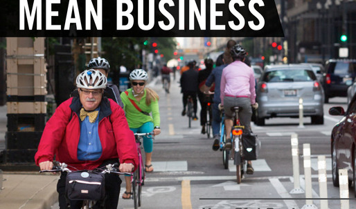 Protected bike lanes strengthen city economy, report finds