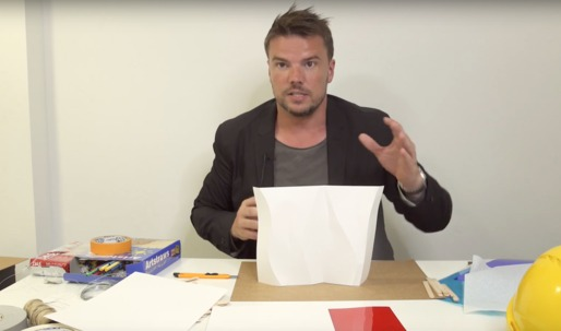 Bjarke builds a model! (and explicates his design process)