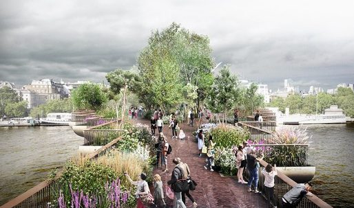 London Mayor Sadiq Kahn scraps Garden Bridge