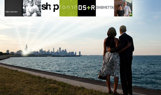 These are the seven finalists in the Obama Presidential Center competition