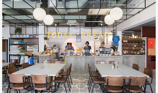 London's Walthamstow Central Parade converted into a creative hub by Gort Scott