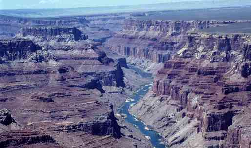 The Grand Canyon is contaminated with mercury