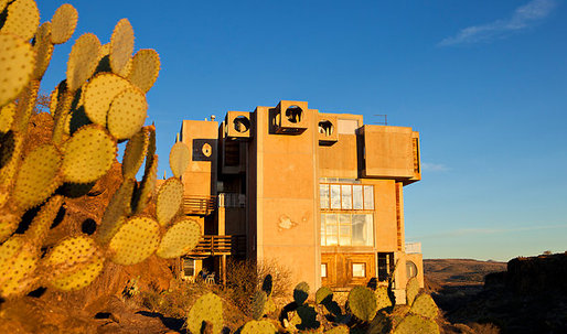 "Arcosanti ""urban laboratory"" or a retirement tower for golf-shy retirees?"