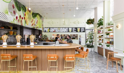 "Barbara Bestor on the Jamba Juice ""Innovation Bar"" she redesigned in Pasadena"
