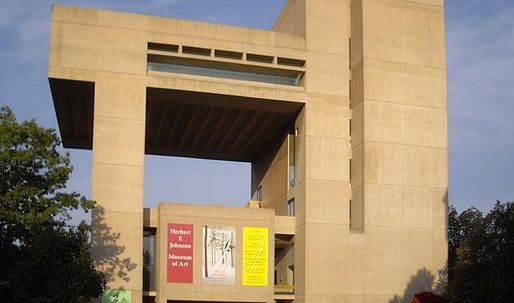 """Pei Cobb Freed faces lawsuit from Cornell over """"faulty"""" Johnson Museum expansion scheme"""