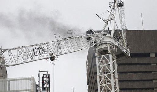 Sydney Crane Crash Caught on Tape