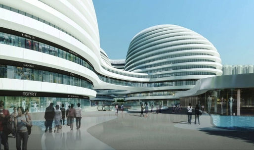 Galaxy Soho accused of damaging 'old Beijing'