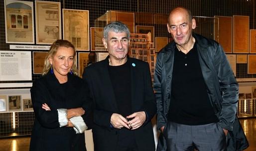 Prada Celebrates Architecture Exhibit in Paris