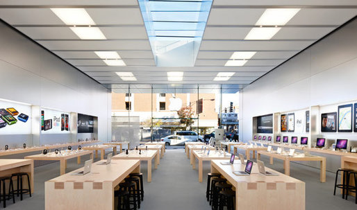 With the Apple Watch coming soon, Jony Ive is already revamping the Apple Store design for its arrival
