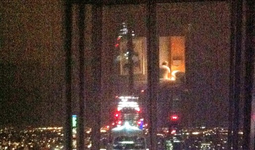 Shard becomes London's 'eyeful' tower
