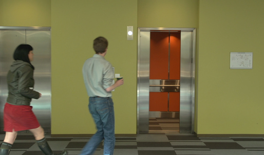Going up? The elevator of the future may know the answer before you.
