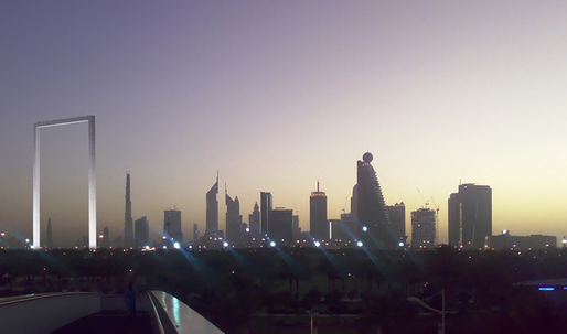 Archinect speaks to designer of controversial Dubai Frame project