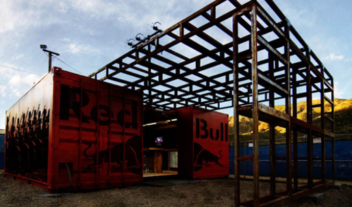 DeMaria's RED BULL Container Building Receives AIA Design Award