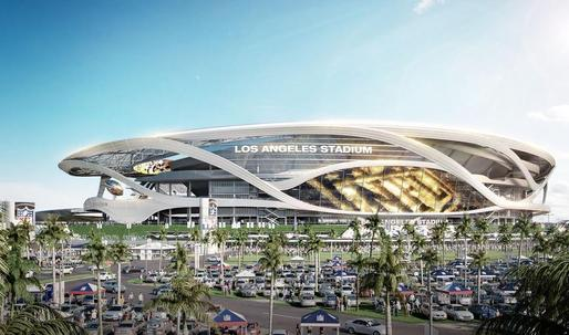Organic kale for posh LA football fans: Newly unveiled stadium design sports a farmers' market and VVIP parking