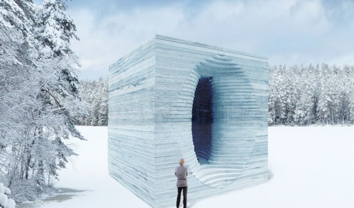 A glimpse of the Warming Huts 2017 winning designs