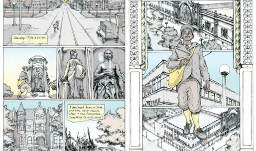 No Small Plans, a graphic novel illustrating urban planning of the past, the present and the future Chicago