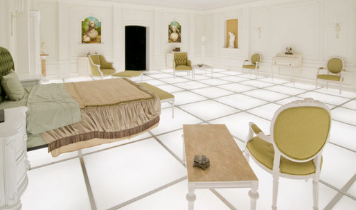 "An LA architect has recreated Kubrick's infamous ""2001"" bedroom scene"
