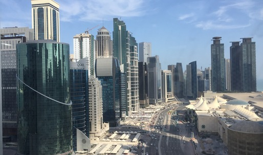 With the Middle East in diplomatic crisis, what will happen to Qatar's building projects?