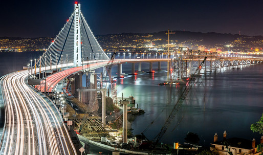 Whats causing the Bay Bridges steel to corrode so rapidly?