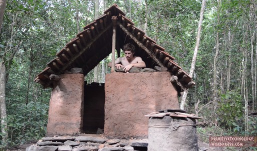 Back to basics: building primitive architecture using only primitive tools