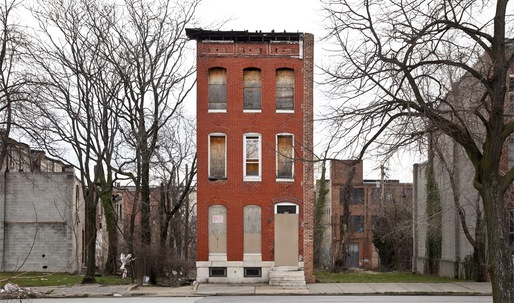 """Last House Standing"" beautifully photo-documents Baltimores forgotten row houses"