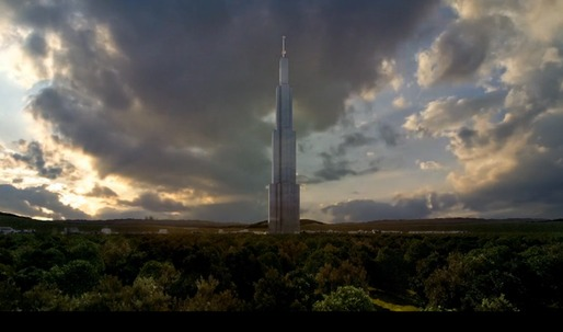 """Sky City"" gets approval, to be tallest building in the world, with contruction schedule now estimated at 7 months"